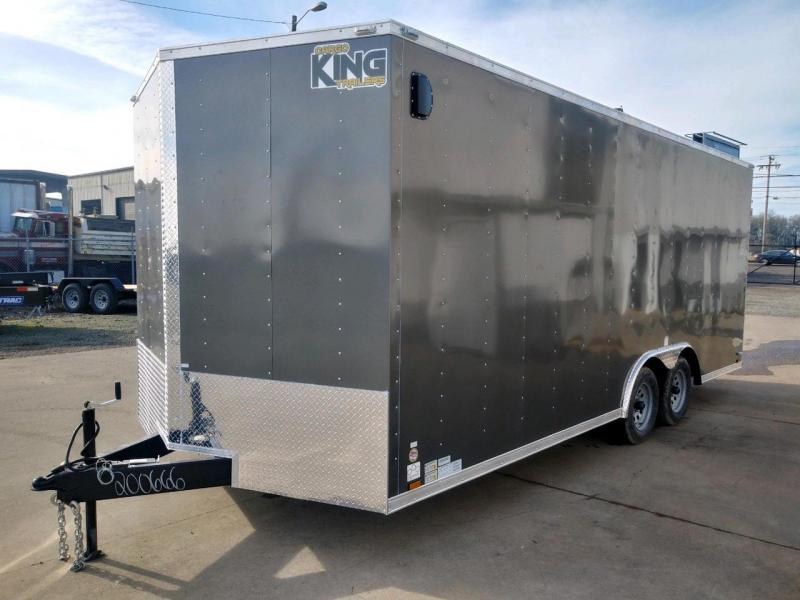 8.520TA2 Enclosed Cargo Trailer  ** 6'' of extra height **  16'' O/C floor crossmembers  **  Rear Ramp Door  **  *