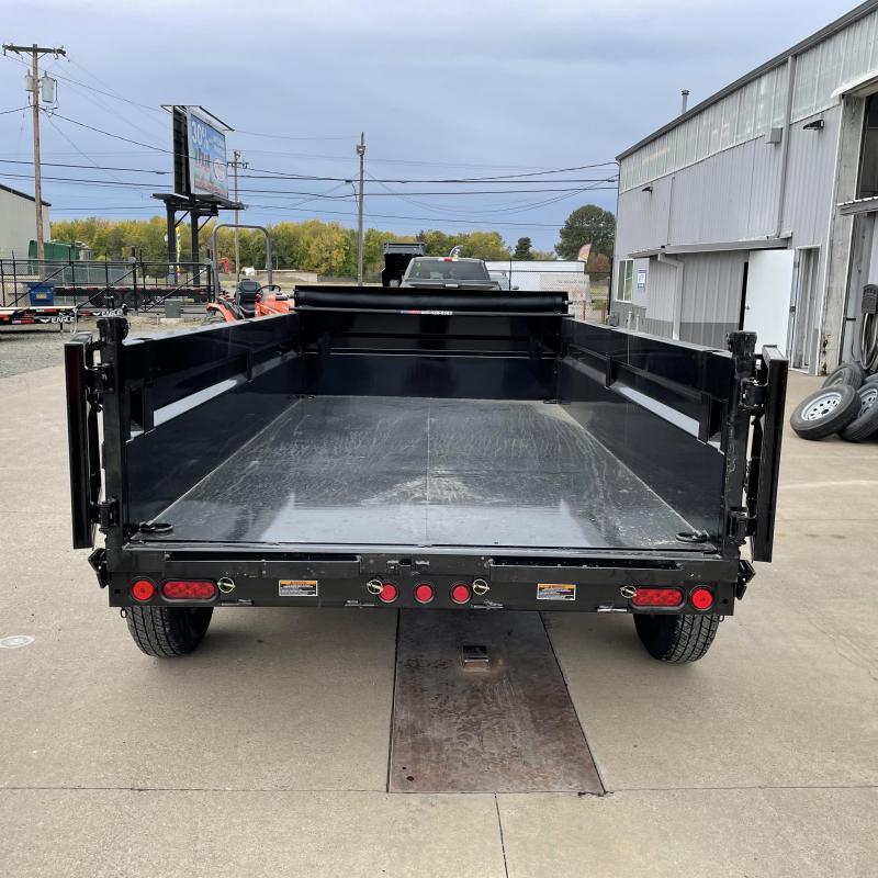 6x12 10k Tandem Axle Dump Trailer