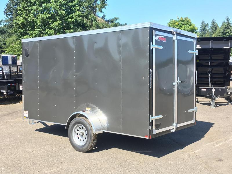 6x12 Enclosed Cargo Trailer with Double Doors **FACTORY ORDER**