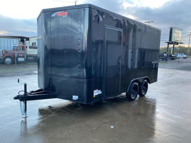 8.5 x 14 Enclosed Cargo Trailer **Side x Side Package  **  Spare tire included **