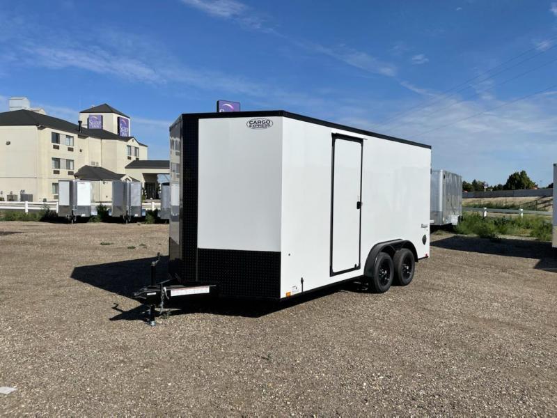 7.5x16 Tandem Axle Enclosed Cargo Trailer