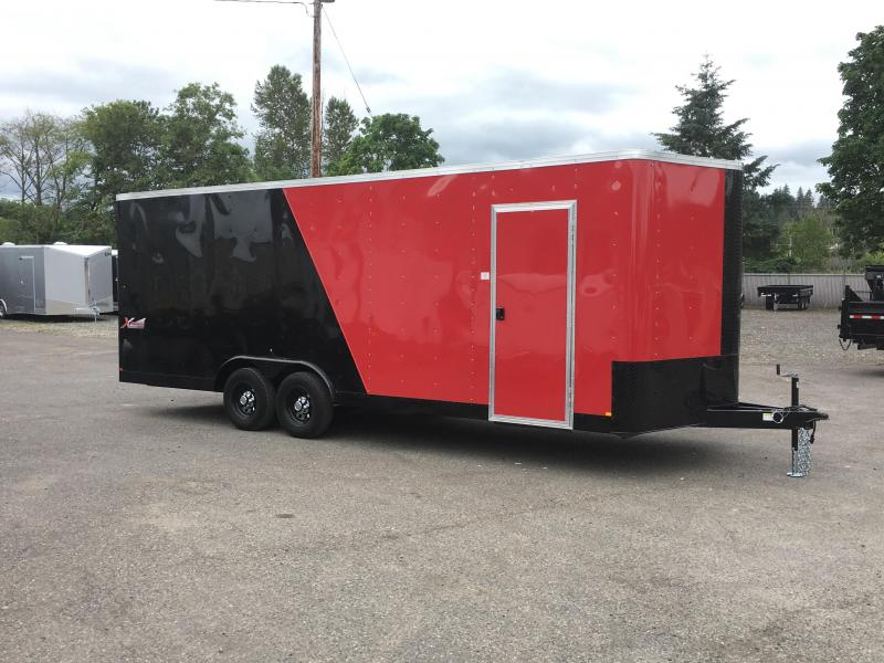 8.5x22 Enclosed Car Trailer With**Plus Height 10K Ceiling liner**