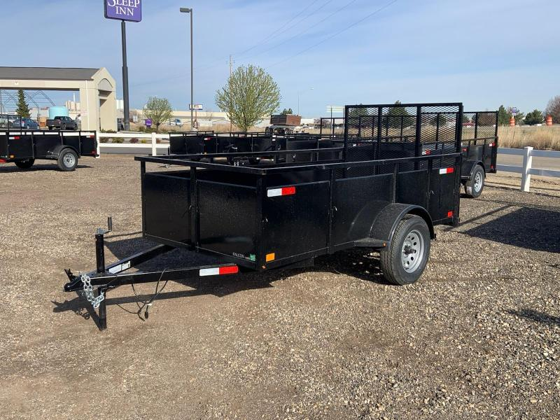 5x10 Single Axle Open Utility Trailer
