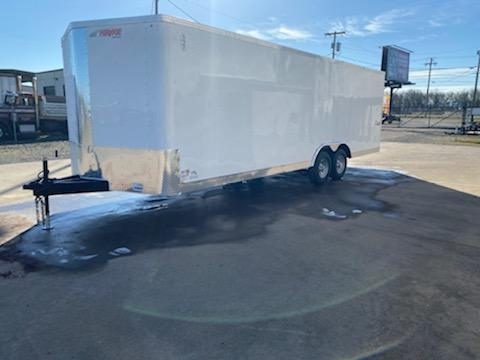 8.524 Enclosed Cargo Trailer  **  Car Carrier Package with Beavertail