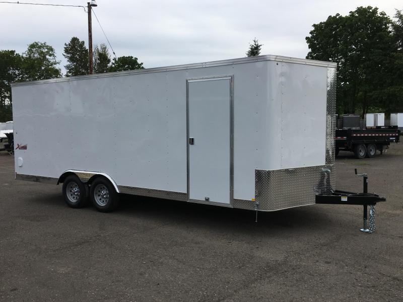 8.5x24 Enclosed Car Trailer *Plus Height*