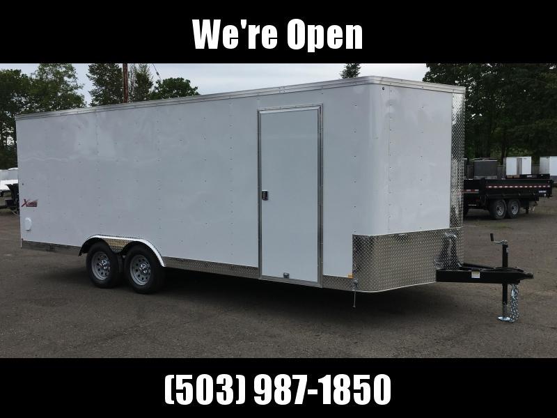 8.5x24 Enclosed Car Trailer *Plus Height*