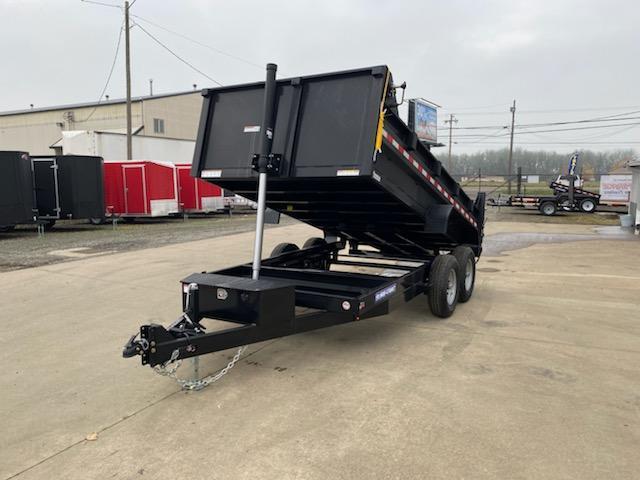 7x12 Dump Trailer 12K Telescopic Dump And Ramps