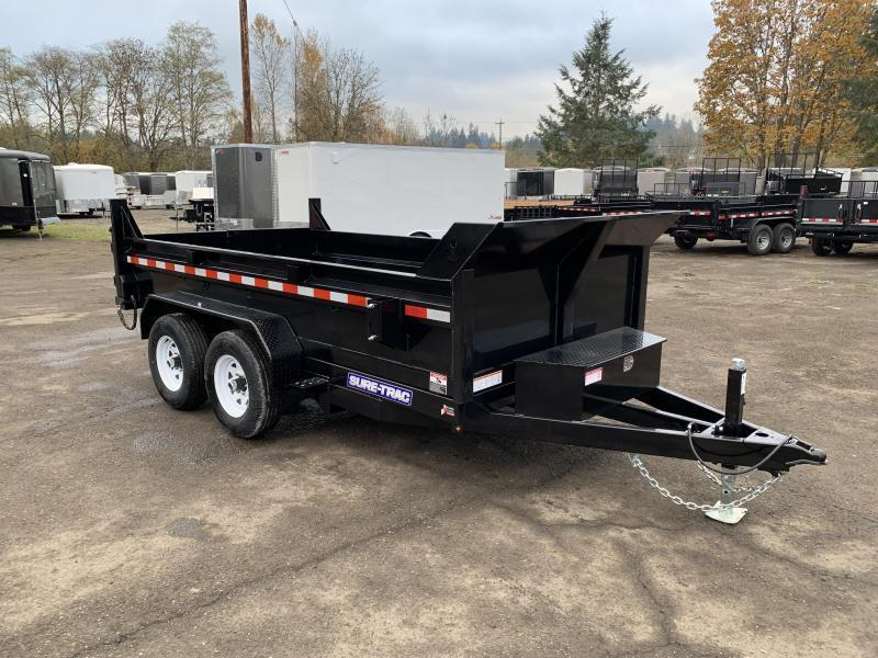 New 6X12 10K Dump Trailer With Spreader Gate and Ramps