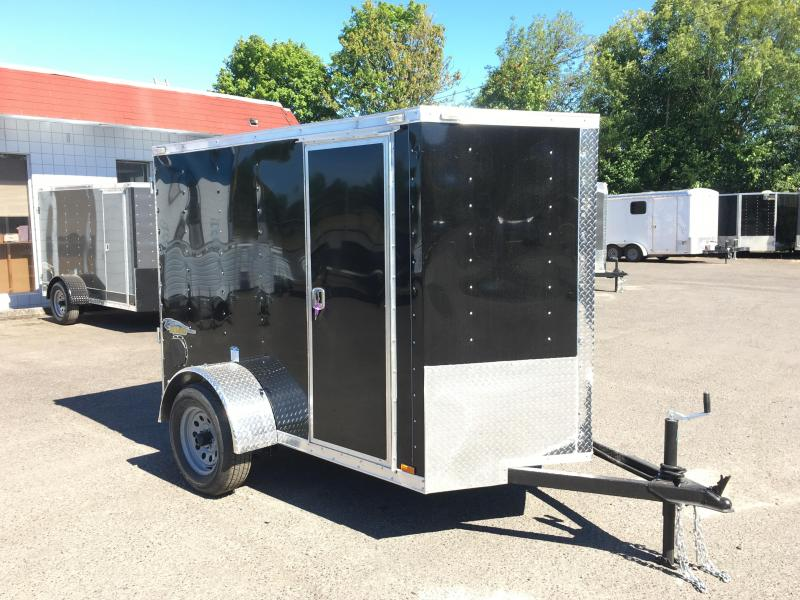 5x8 Enclosed Cargo Trailer With Double Door