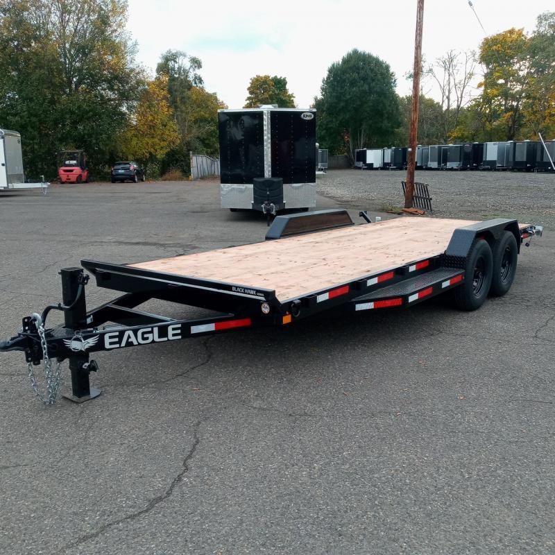 7x18 Flat Bed Heavy Duty Equipment Trailer 14K