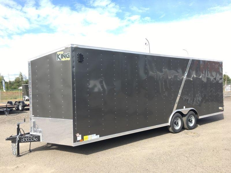 8.5x24 Tandem Axle Enclosed Cargo Trailer ** Plus Height**