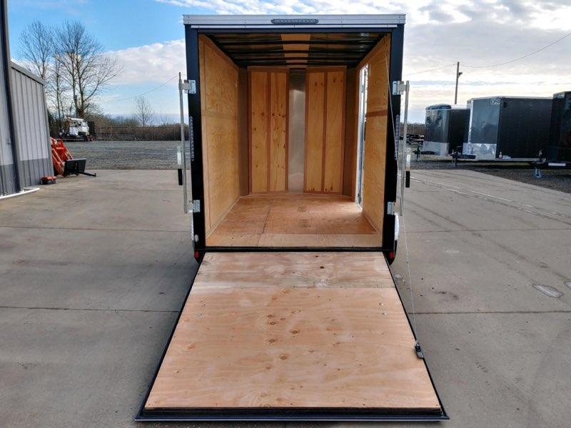 6x10 Enclosed Cargo Trailer  **  Rear Ramp Door  **