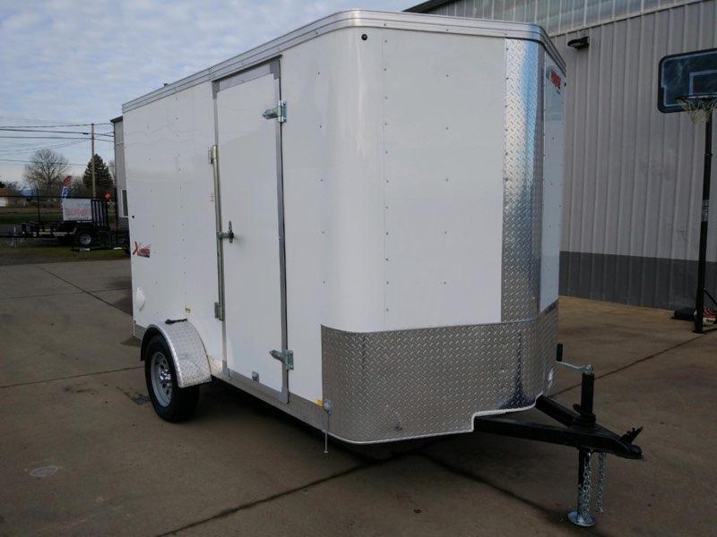 6x10 Enclosed Cargo Trailer  **  Rear Ramp Door  **