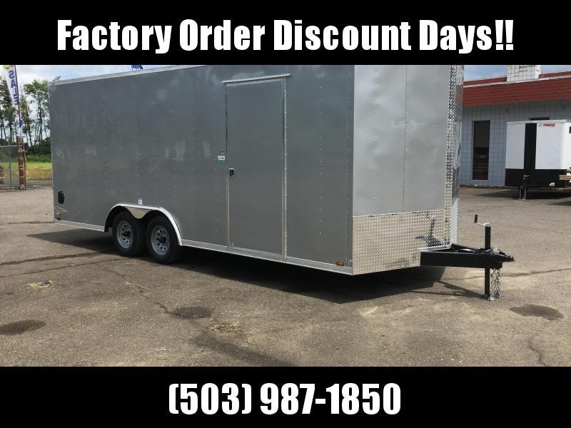8.5x20 10k Enclosed Cargo Trailer  **FACTORY ORDER**