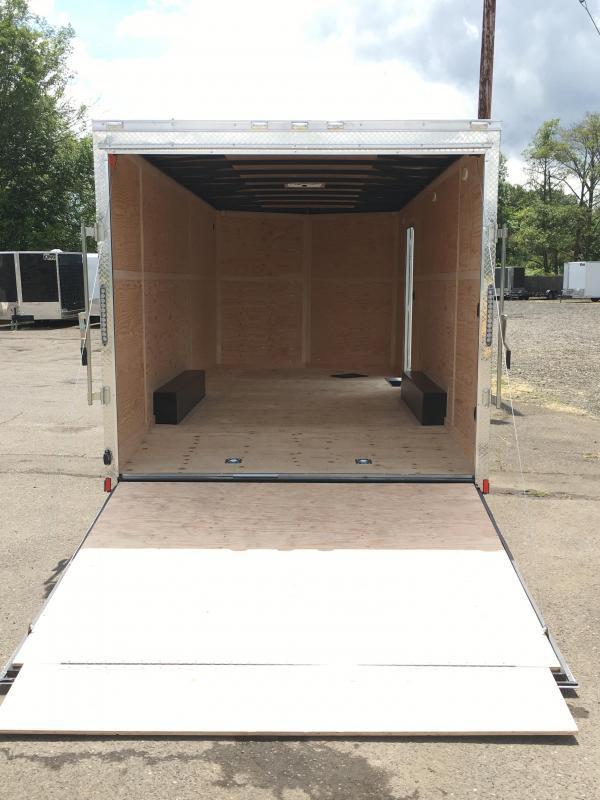8.5x20 10k Enclosed Cargo Trailer **Plus Height**