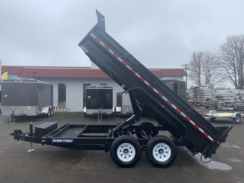 New HD 7x14 Dump Trailer 14K Scissor Hoist*Roll Tarp*Ramps