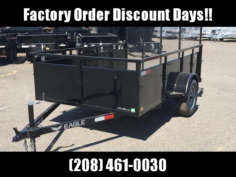 5x10 Utility Trailer With Drop Down Gate **FACTORY ORDER**