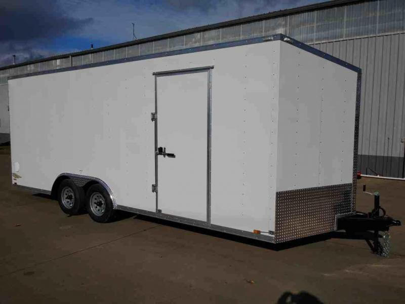 8.5 x 20 Enclosed Cargo Trailer ** Rear Ramp Door **