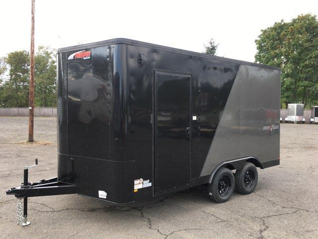 8.5x14 Tandem Axle Enclosed Trailer **Side X Side**