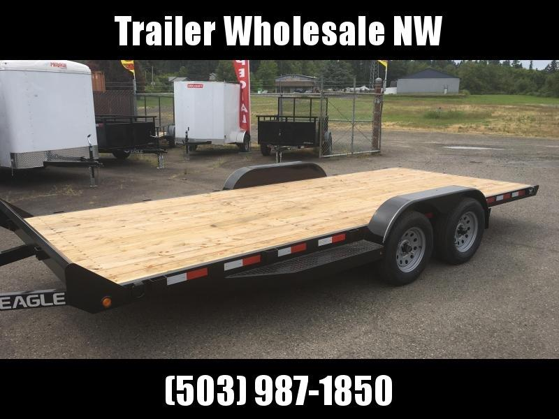 7x16 Car Hauler 7K Utility Trailer