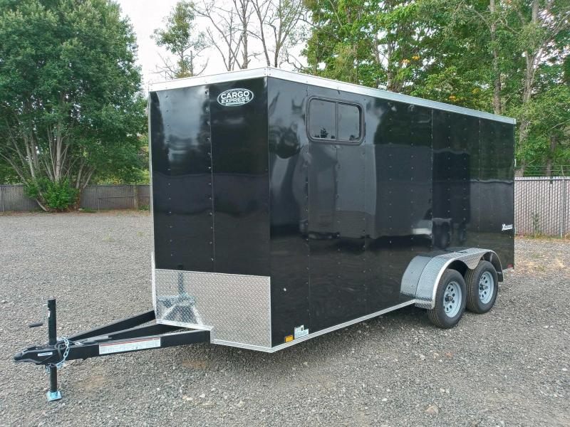 7X16 Enclosed Cargo Trailer **Side X Side** With Window **ON ORDER**