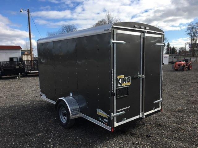 6x12 Enclosed Cargo Trailer With Double Door