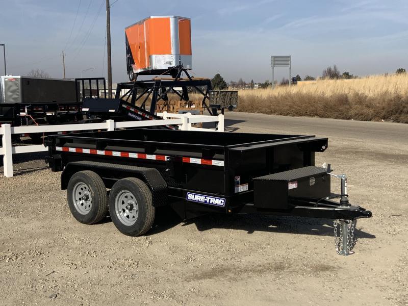 5x10 Tandem Axle 7k Dump Trailer