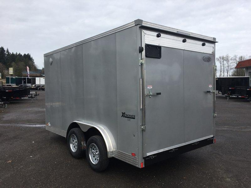7X14 Enclosed Cargo Trailer **7.5 Wide Side X Side**