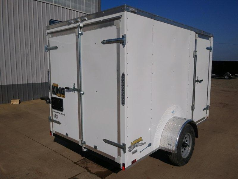 6x12 Enclosed Cargo Trailer  **  In Stock  **  Double Rear Door  **