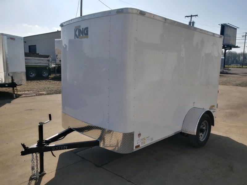 6x12 Enclosed Cargo Trailer  **  In Stock  **  Double Rear Door  **
