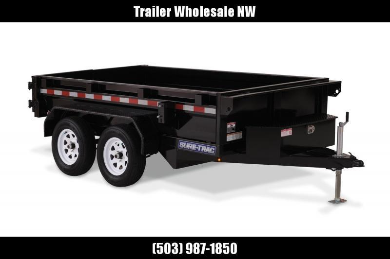 New 5x10 7K Tandem Axle Dump Trailer
