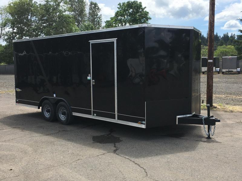 8.5x20 10k Enclosed Cargo Trailer **Plus Height**
