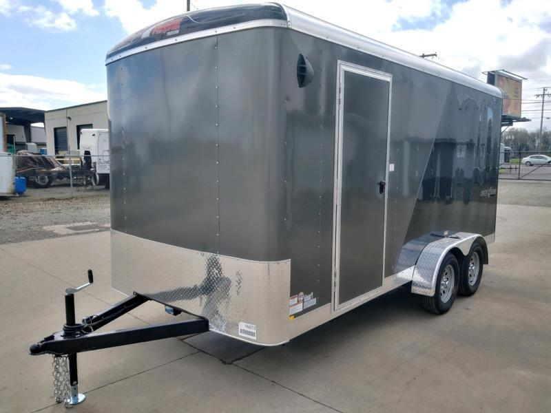 7x16 Enclosed Cargo Trailer  **  SxS Package  **  Rear Ramp Door  **  6'' of additional height  **