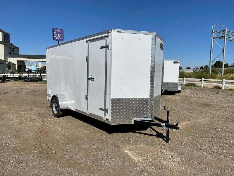 6x14 3k Cargo Trailer w/ Rear Ramp Door