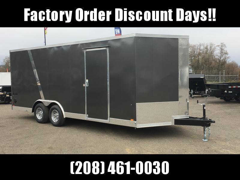 8.5x20 Enclosed Car Cargo Trailer **FACTORY ORDER**