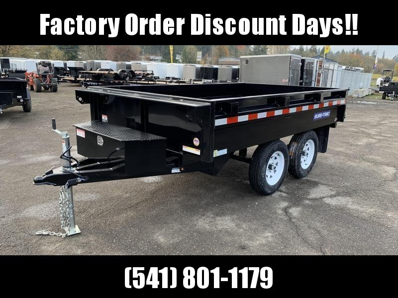 6x10 7K Deckover Dump Trailer **FACTORY ORDER**