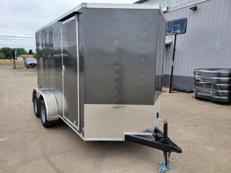 2022 Cargo Express 6X12 Enclosed Cargo Trailer  **  Tandem Axle  **  Rear Ramp Door  **  Extra Height  **