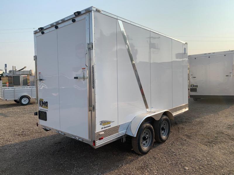 7x14 Tandem Axle Enclosed 7k ALL ALUMINUM Cargo Trailer