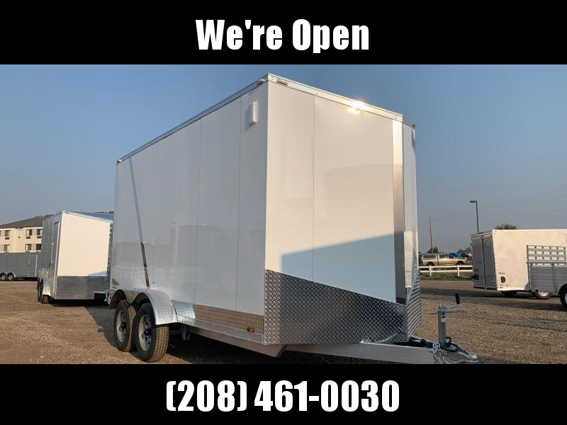 7x14 Tandem Axle Enclosed 7k ALL ALUMINUM Cargo Trailer