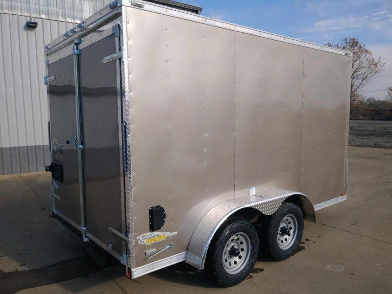 Christmas Blowout Sale! New 7x12 Tandem Axle Enclosed Trailer With Extra Height
