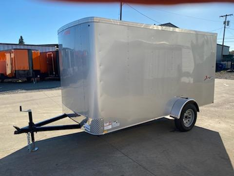 6 x 10 Enclosed Cargo Trailer ** Rear Ramp Door **