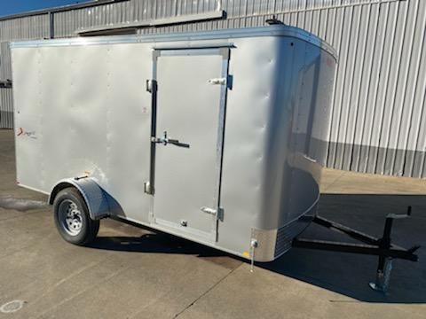 6 x 10 Enclosed Cargo Trailer ** Rear Ramp Door **