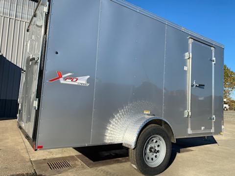 6 x 12 Enclosed Cargo Trailer ** Rear Ramp Door **