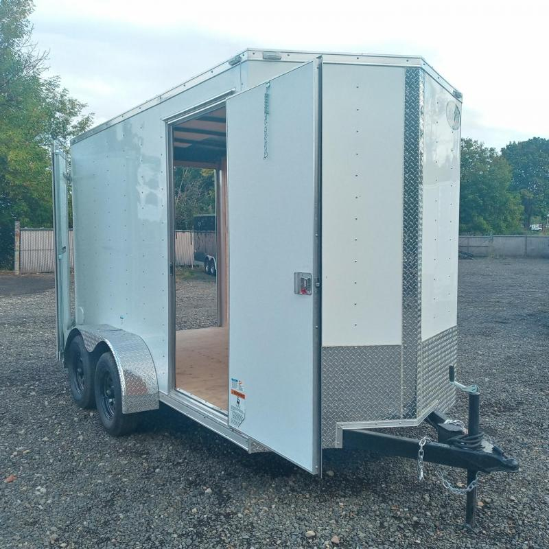 6x12 7k Cargo Trailer with Double Rear Doors