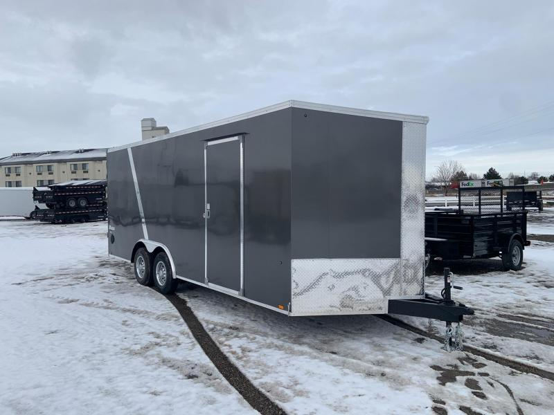 8.5x20 Tandem Axle 10k Enclosed Cargo Trailer