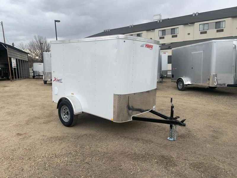 5x8 Single Axle Enclosed Cargo Trailer