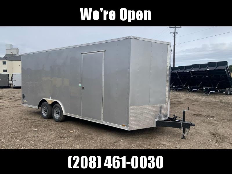 8.5x20 Tandem Axle Enclosed 10k Cargo Trailer