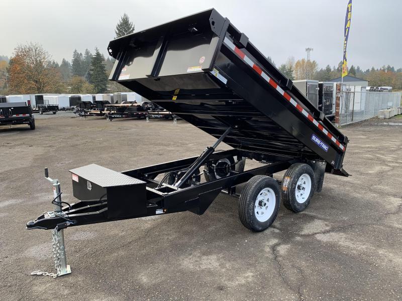 6x10 Tandem Axle Deck Over 7K Dump Trailer