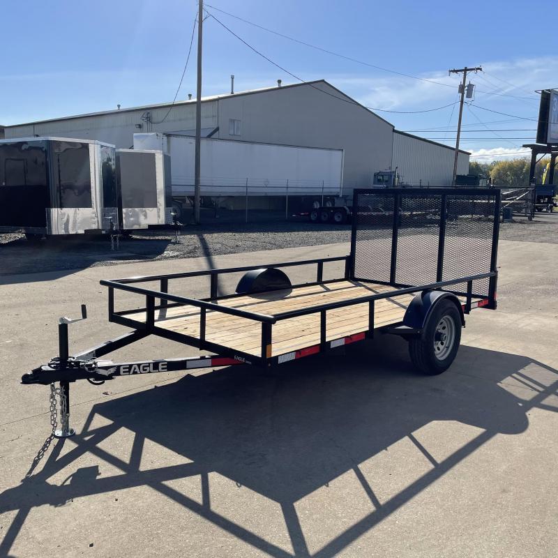 6.5x12 5k Utility Trailer With Barn Doors