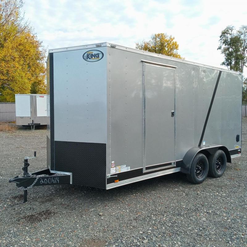 7x16 Tandem Axle 7K Enclosed Cargo Trailer